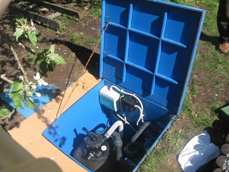 Монтаж оборудования для бассейна своими руками видео